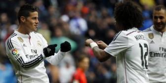 Sin Cristiano Ronaldo, James Rodríguez se vistió de héroe ante la Real Sociedad