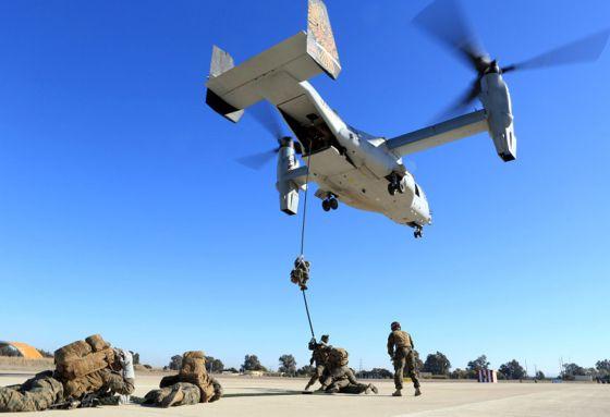 EE UU quiere hacer de Morón la base permanente de su fuerza ... - eju.tv