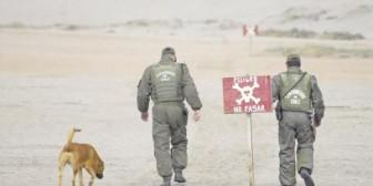 Un herido al pisar mina en la frontera Chile-Perú