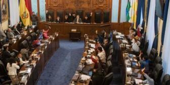 Demócratas denuncia que el MAS cambiólista de presidencias del Senado