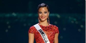 Miss Jamaica da una lección de clase luego de su derrota en el Miss Universo