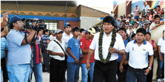 Presidente Morales viaja a la Celac con críticas a Estados Unidos