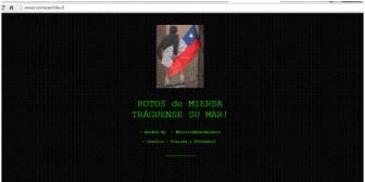 Página chilena es hackeada por supuesto grupo boliviano en alusión al tema marítimo