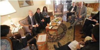 Alemania y Suiza presentan proyecto para tren bioceánico por Bolivia