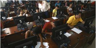 Solo un 24% aprobó el examen de ingreso a la 'U' de Santa Cruz