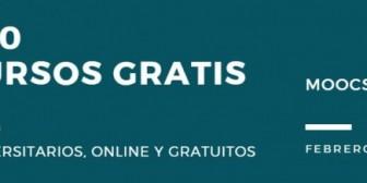 300 cursos universitarios, online y gratuitos que inician en febrero