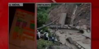 Cochabamba: Testigo de la caida del puente relata la tragedia del camión que cayó al río