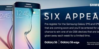 Los nuevos Galaxy S6 y S6 Edge dan la cara con la primera imagen oficial