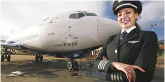 La reina de los cielos: Paola Velasco Pinedo, la primera mujer piloto comandante de Bolivia