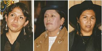 La 'generación Evo' con tres ministras y 27 asambleístas