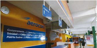 ¿Quiebra? Aerocon suspende vuelos diarios en todo Bolivia