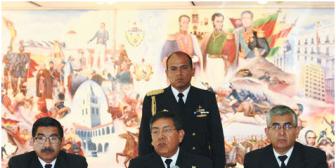 La Armada de Bolivia despliega una unidad antidrogas