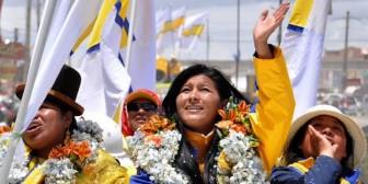 Evo Morales podría perder su bastión contra una descendiente de aymaras
