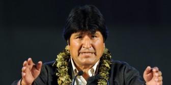 """Evo Morales dice que no cree que acabe el """"reinado"""" de los movimientos sociales en Bolivia"""