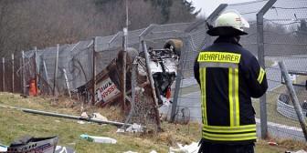 Accidente en el circuito de Nurburgring dejó un espectador muerto
