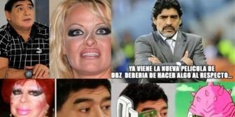 Los mejores memes del cambio de look de Diego Armando Maradona