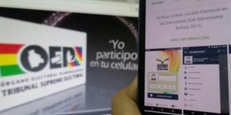Una aplicación para saber donde hay que votar