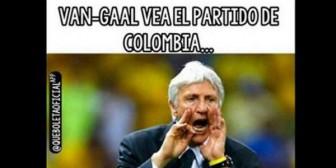 Los memes a Van Gaal tras los goles de Falcao