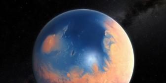 Marte fue tan azul como rojo en un pasado gracias a sus enormes océanos