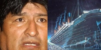 Evo salta del Titanic del MAS