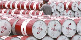 Caída del precio del crudo ya afecta a las exportaciones de Bolivia