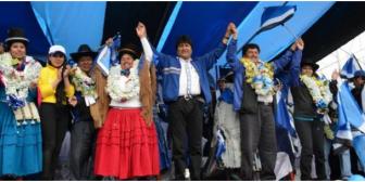 """Evo se desespera y amenaza a los alteños sobre las consecuencias de una victoria de la """"derecha"""" opositora"""