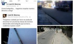 Ciudadanos denuncian irregularidades mediante las redes sociales