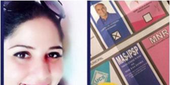 """Exopositora Echeverría prueba su """"lealtad"""" al MAS y difunde foto de su voto por Twitter"""