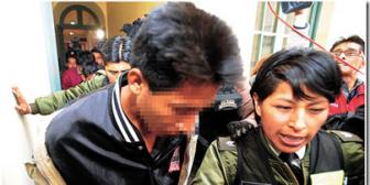 Se descarta la hipótesis del rapto de Emma; tres imputados por estupro son enviados a la cárcel de San Pedro