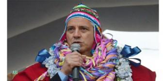 """García Linera: """"Deben llenar el coliseo, sino el Evo se llevará las graderías"""""""