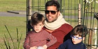 La confesión de Ricky Martin sobre sus hijos
