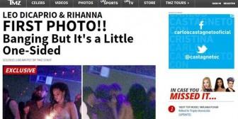 La primera foto de Rihanna y Leonardo DiCaprio, de fiesta juntos