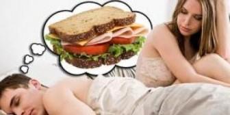 Sexo o comida: ¿qué prefieren los hombres?