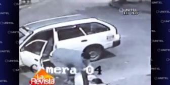 Santa Cruz: Video muestra cómo un taxista le roba a un ebrio