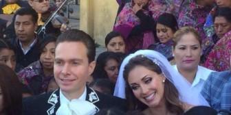 Anahí y el Gobernador de Chiapas: Una boda sin recepción, luna de miel y por la mañana