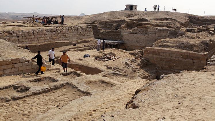 Excavaciones al sur de El Cairo. Foto ilustrativa