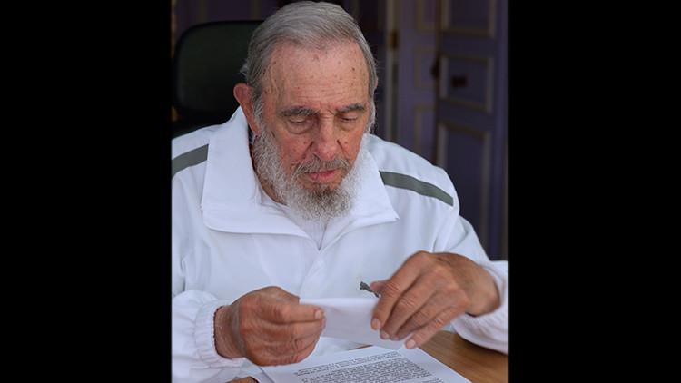 Fidel Castro ejerce su derecho al voto en las elecciones parciales de Cuba