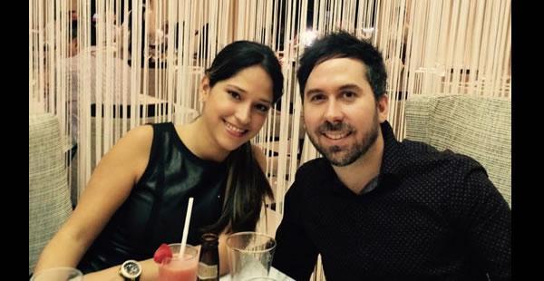 Pablo Hurtado llegó hasta Santa Cruz para pedirle a Romina Prado que sea su esposa