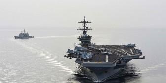 Barcos iraníes que se dirigían a Yemen dan media vuelta tras ser seguidos por buques de EEUU