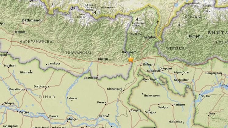 Un sismo de magnitud 5,1 sacude India