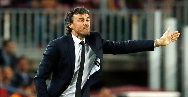 El entrenador del Barcelona Luis Enrique es exigente con su equipo, pues cree que se debe entregar lo máximo en los torneos donde intervienen