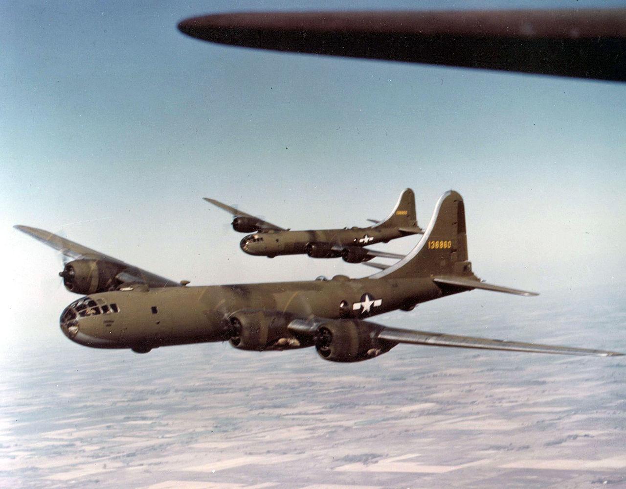 Prototipo YB-29 Superfortresses