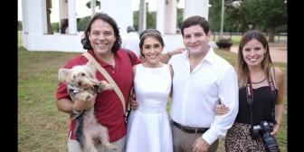 El hijo de Rubén Costas se casó con Omaira Saucedo