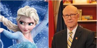 ¡Senador estadounidense interrumpe una audiencia con su ringtone de Frozen!