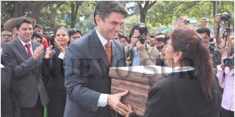 Unir guardó su bandera política, ahora Paz pedirá a Evo cumplir su promesa con Tarija