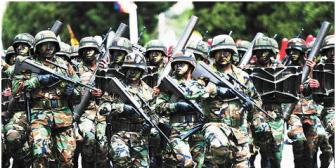 FFAA de Bolivia renovarán armamento