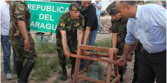 Paraguay devuelve a Bolivia una campana que era trofeo de la Guerra del Chaco
