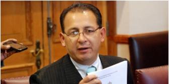 Alcalde de La Paz Omar Rocha amenaza con renunciar por el caso Brun