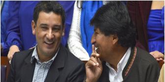 """Pablo Canedo, candidato del MAS a la Gobernación de Tarija: """"Soy evista, no masista'"""