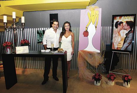 La empresa de Ximena Jiménez lució nueva imagen corporativa. Ella estuvo con su cortejo, Saúl Ortiz